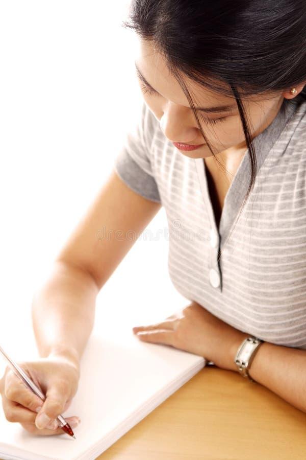 妇女年轻人 免版税库存图片