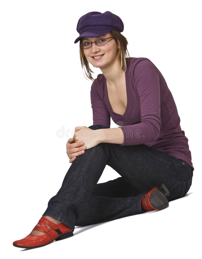 妇女年轻人 免版税图库摄影