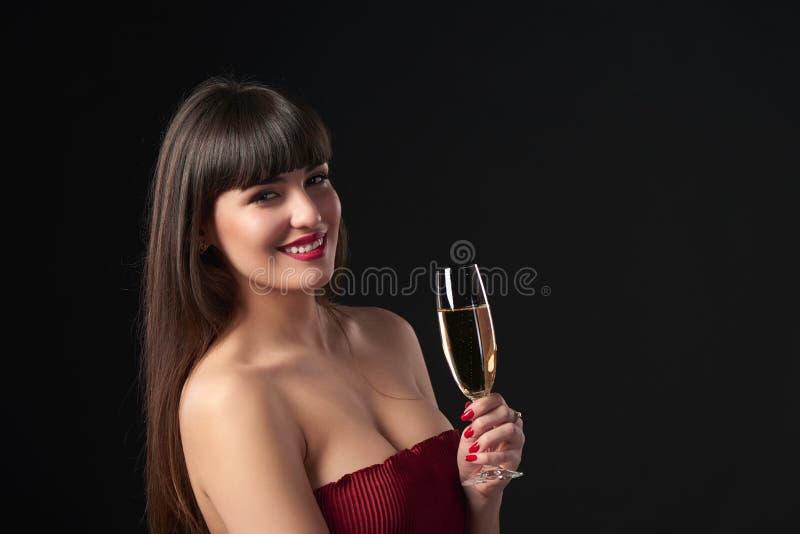 妇女庆祝 免版税库存照片