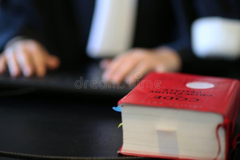 妇女律师 图库摄影
