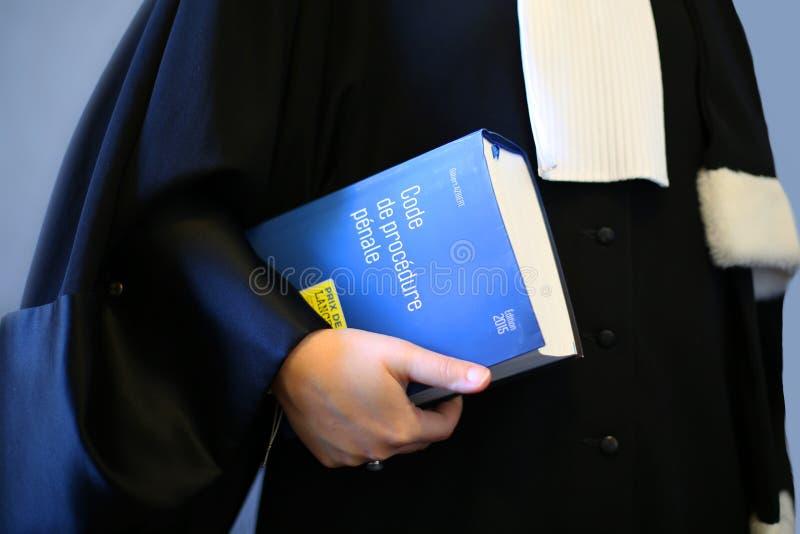 妇女律师 库存图片
