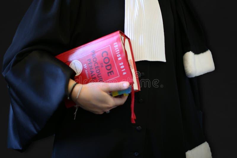妇女律师 免版税库存照片