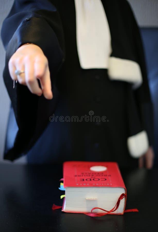 妇女律师 库存照片