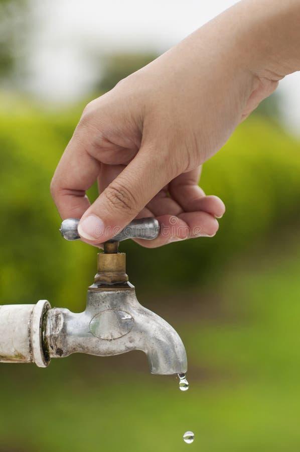 水挽救 免版税库存图片