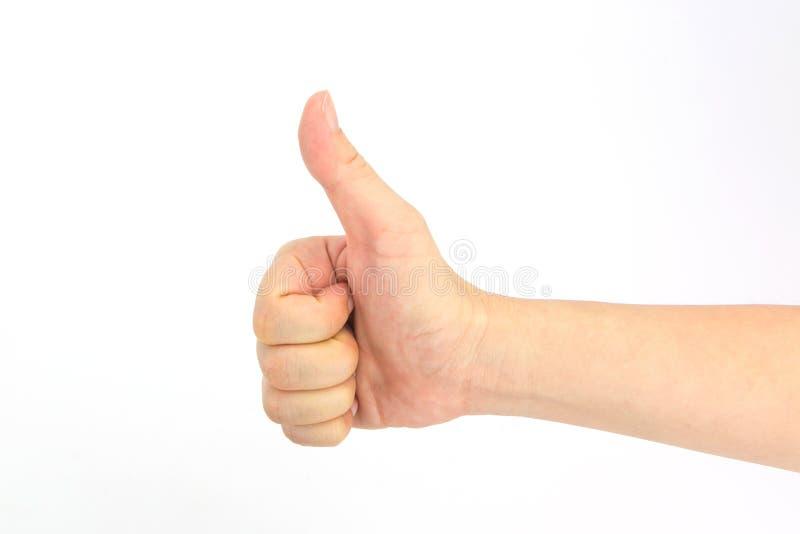 Download 妇女手tumb标志 查出在白色 库存图片. 图片 包括有 决定, 女孩, 协议, 概念, 决策, 喜悦, 商业 - 62529935