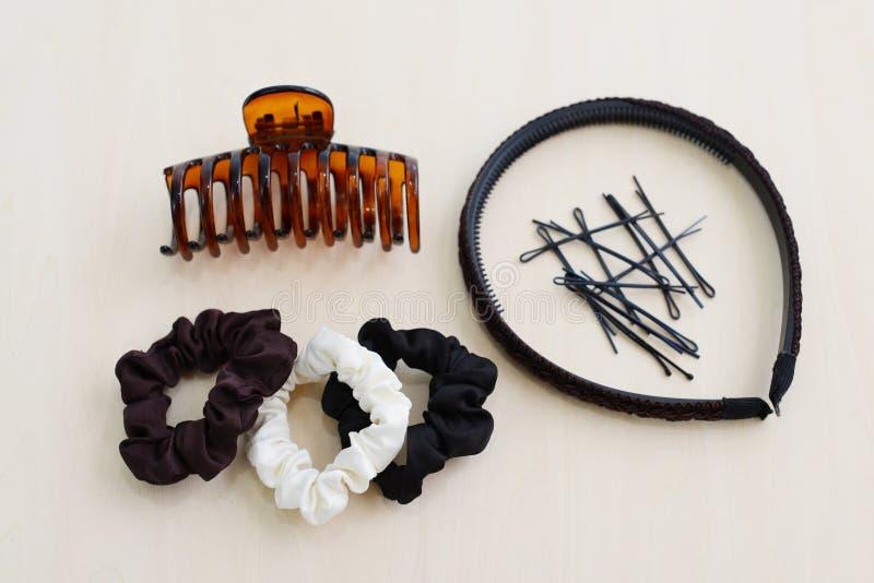 妇女的头发辅助部件 库存照片