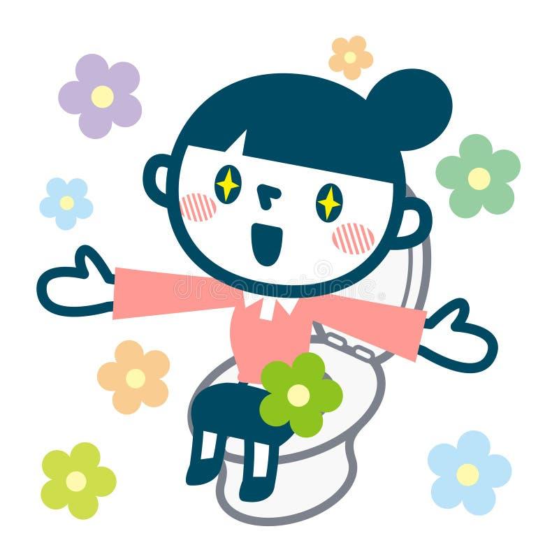 Download 妇女的微笑好排便的 向量例证. 插画 包括有 保密性, 内部, 健康, 刷新, 小便, 卫生学, 背包, 动画片 - 72368342