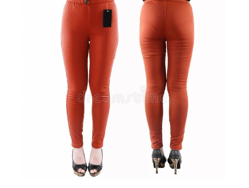 妇女的裤子 免版税库存图片