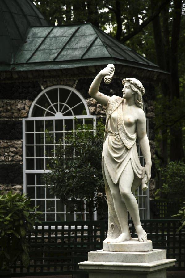 妇女的雕象 库存图片