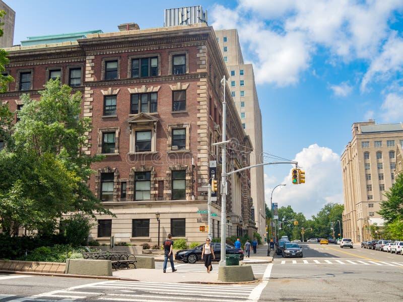 妇女的巴纳德人文科学学院在纽约 免版税图库摄影