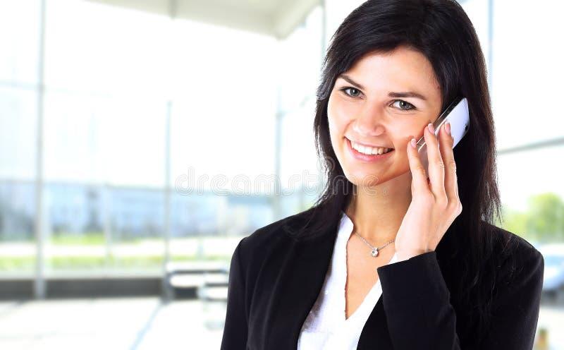 妇女谈论工作计划 库存图片