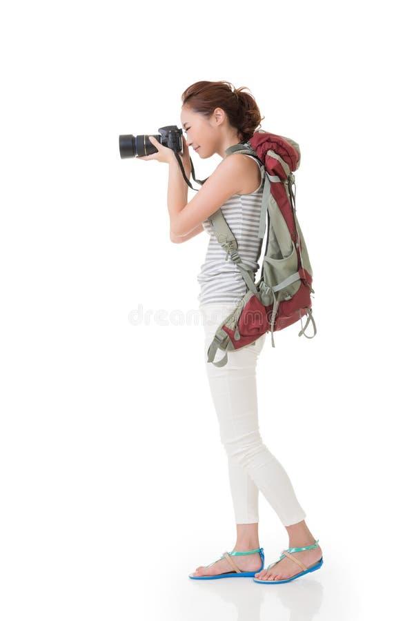 妇女采取图象 库存照片