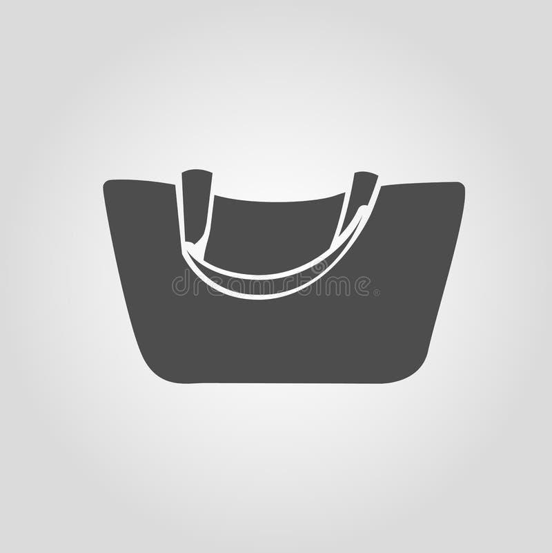 妇女钱包或顾客袋子象 皇族释放例证