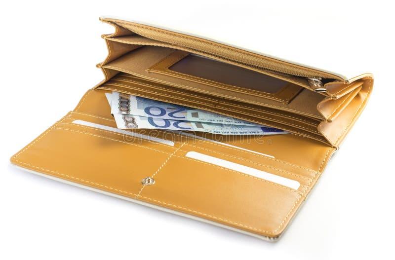妇女钱包 免版税库存照片