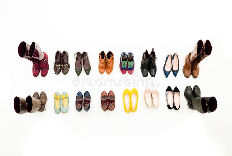 妇女鞋子销售 免版税库存图片
