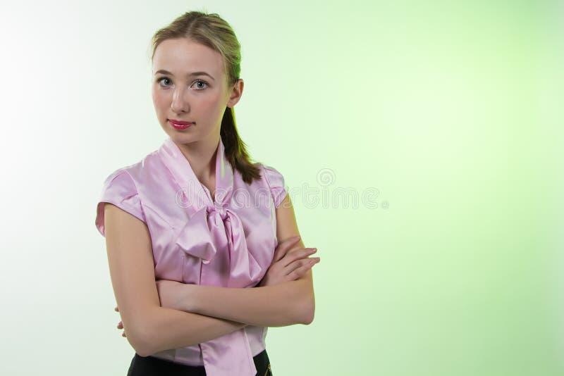 妇女画象  免版税图库摄影