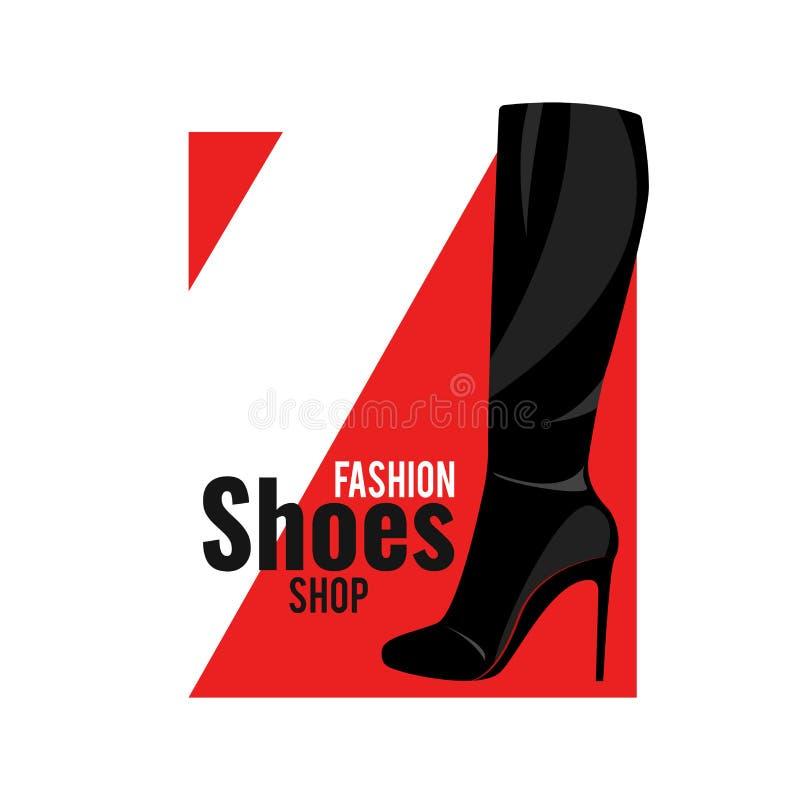 妇女` s高鞋子 皇族释放例证