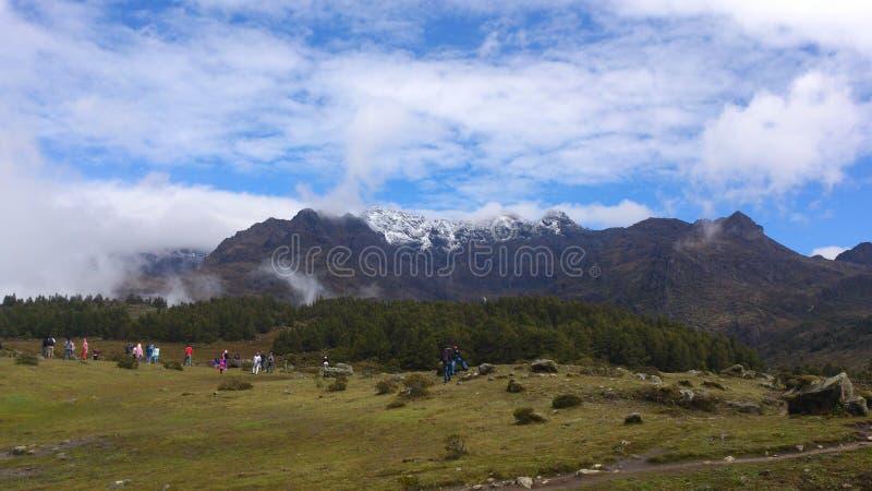 委内瑞拉山 库存图片