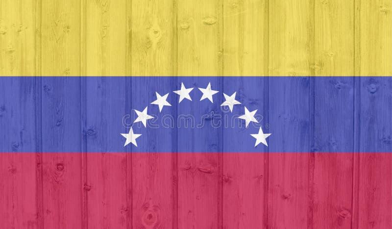 委内瑞拉旗子 皇族释放例证