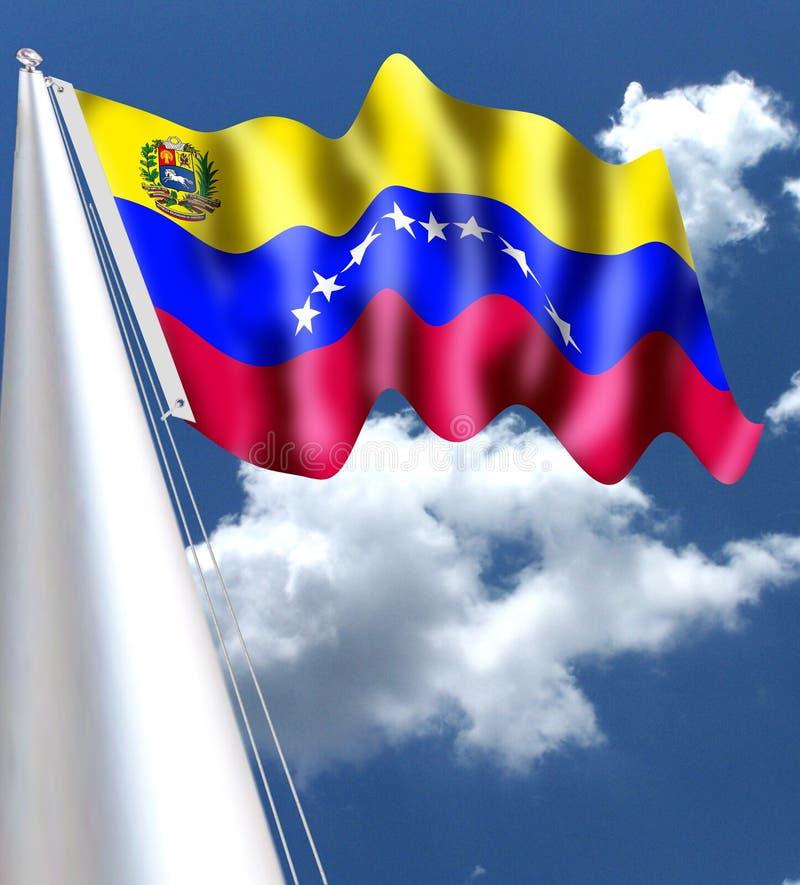 委内瑞拉旗子-颜色-意思委内瑞拉-图片、历史&事实的国旗意义和象征主义-所有土佬我 库存例证