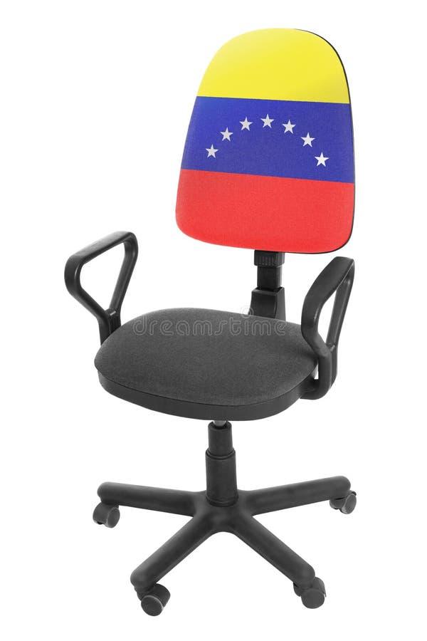 委内瑞拉旗子 库存图片