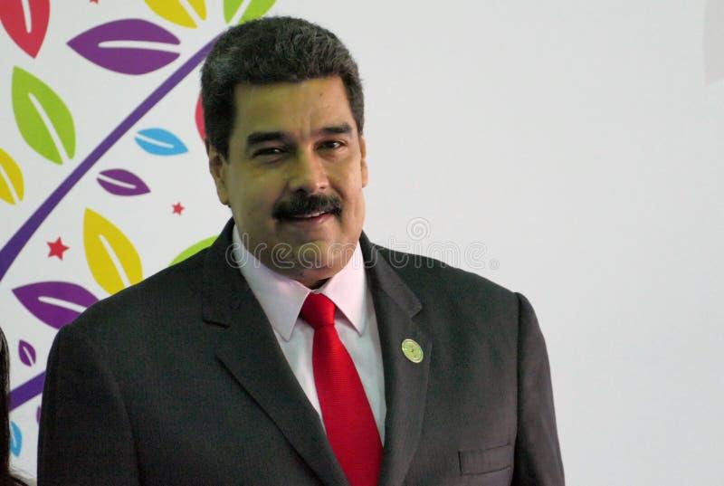 委内瑞拉总统尼古拉斯・马杜罗 库存图片