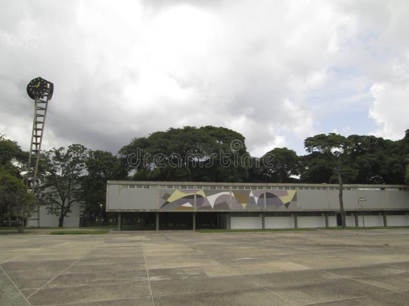 委内瑞拉UCV加拉加斯好的委内瑞拉的中央大学 库存图片