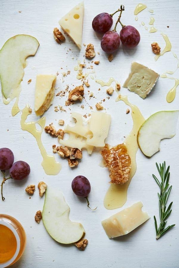 委员会用乳酪 免版税库存图片