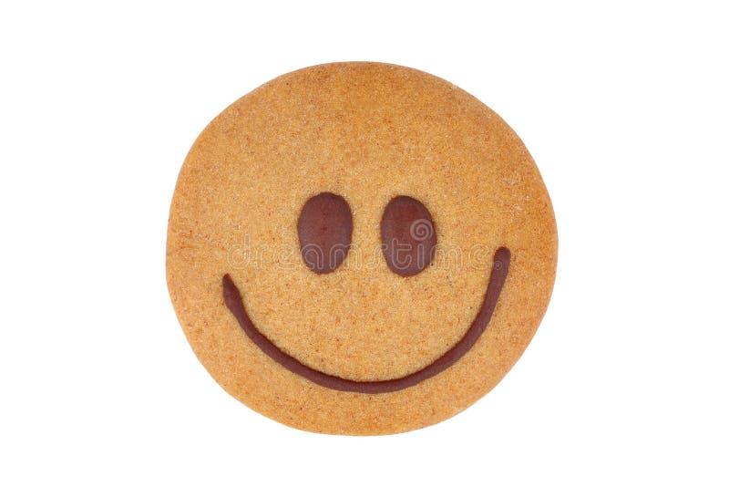 姜饼面带笑容 免版税图库摄影