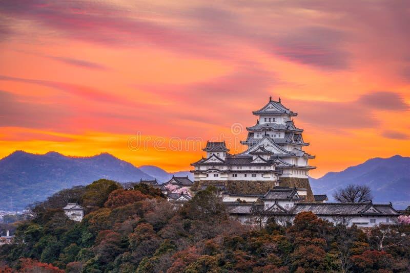 姬路城堡,日本 库存照片