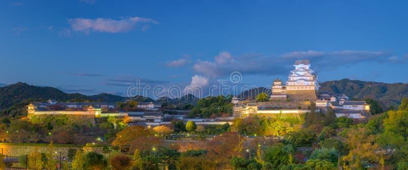 姬路日本城堡 免版税库存照片