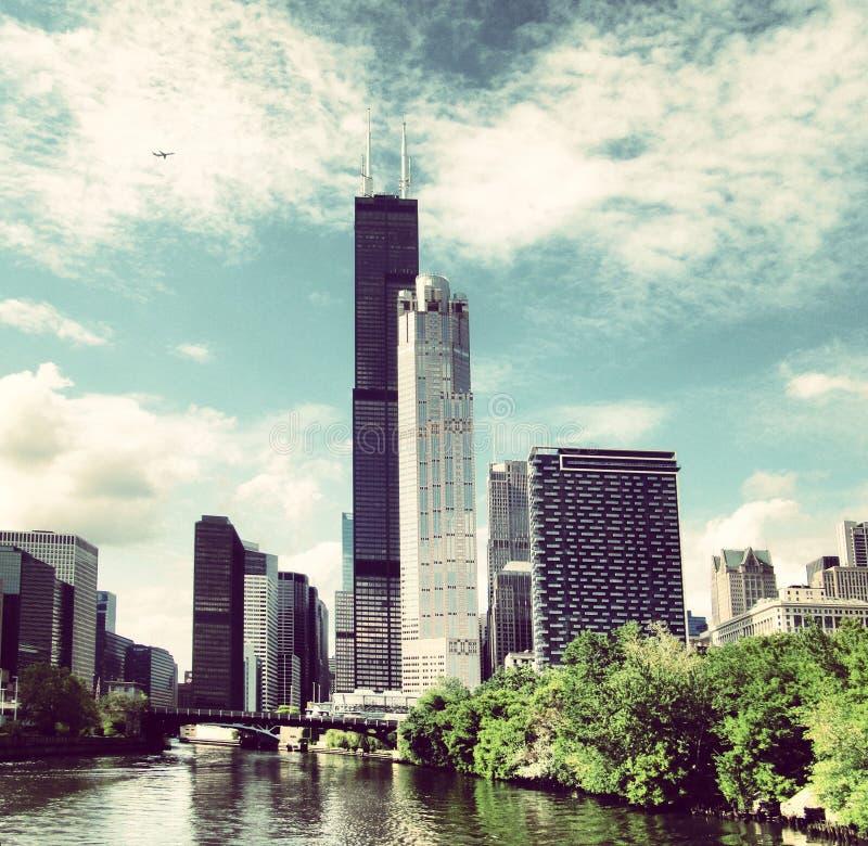 威利斯塔在芝加哥 免版税图库摄影