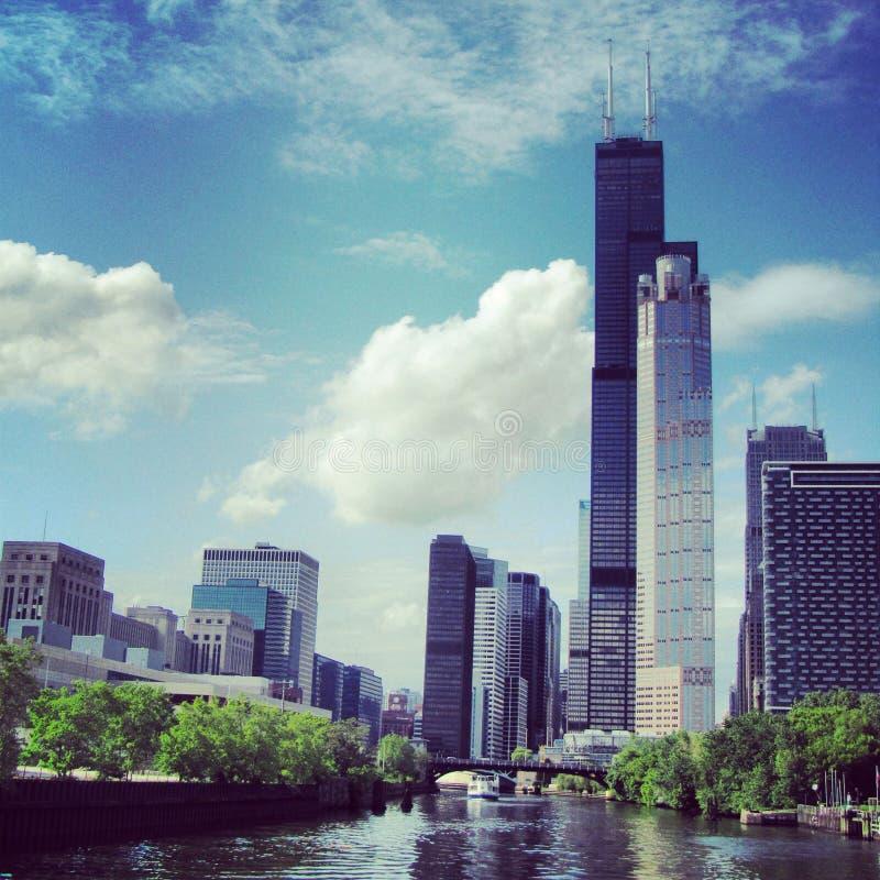 威利斯塔在芝加哥 免版税库存照片