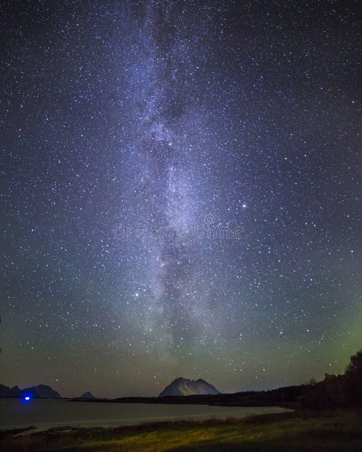 威力银河 图库摄影