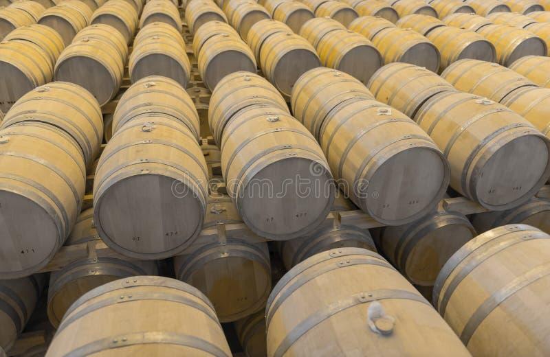 威士忌酒桶 库存照片