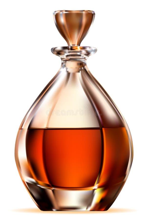 威士忌酒 皇族释放例证