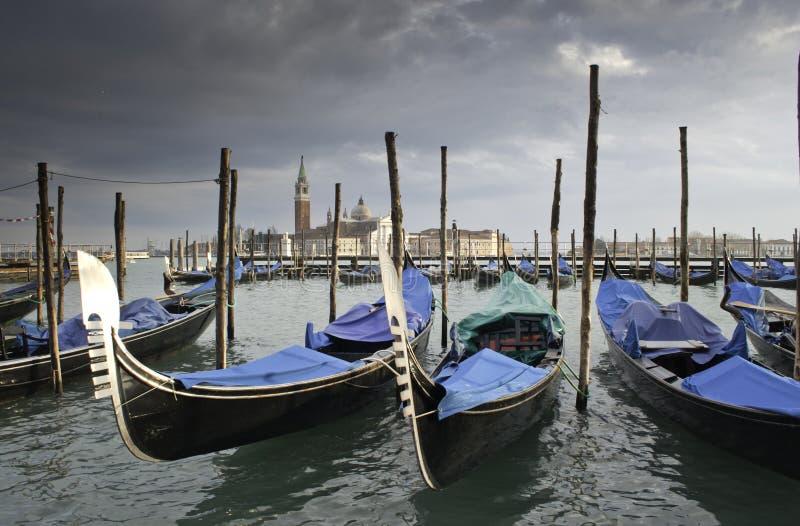 威尼斯冬天 库存图片