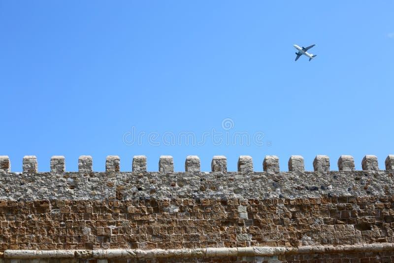 威尼斯式堡垒Koules 免版税库存图片