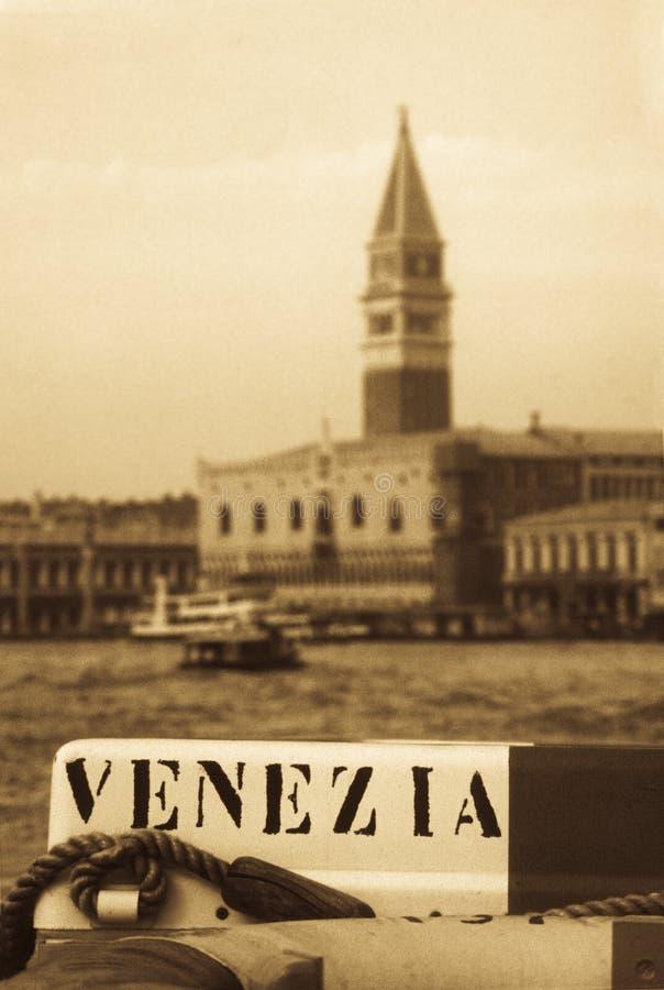 威尼斯式浮体的生活 免版税库存照片