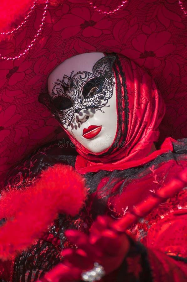 威尼斯式狂欢节2013 库存照片