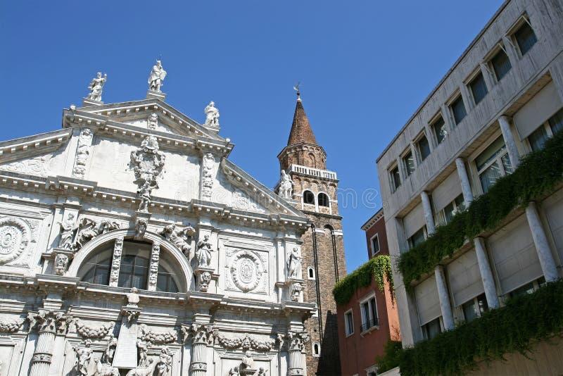 威尼斯式的地标 库存照片