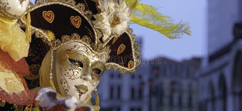 威尼斯式的屏蔽 免版税库存图片