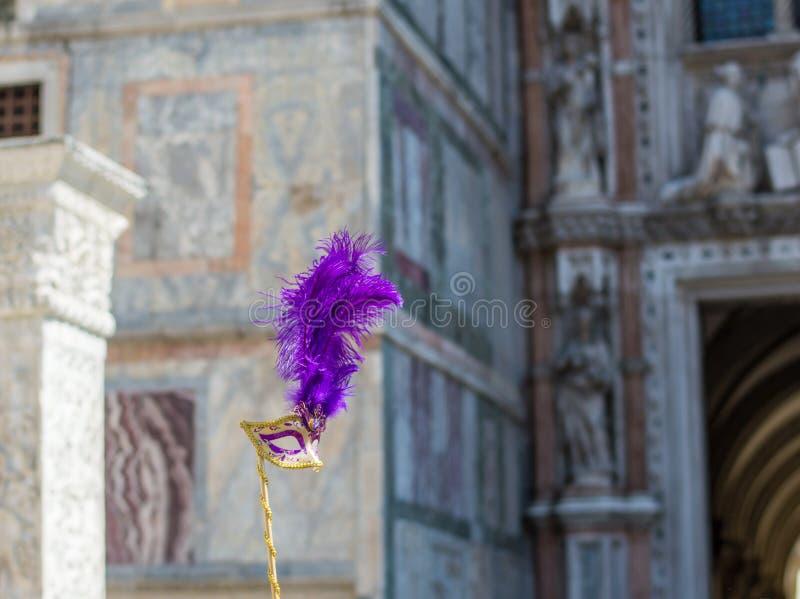 威尼斯式的屏蔽 库存照片