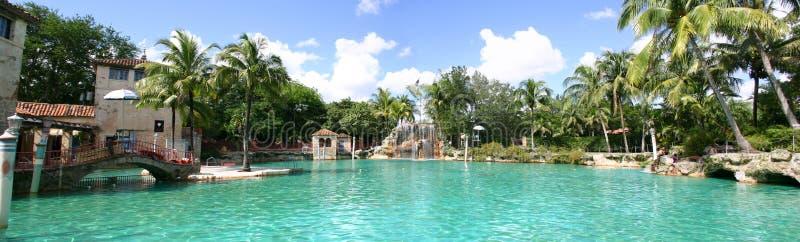 威尼斯式的池 库存图片