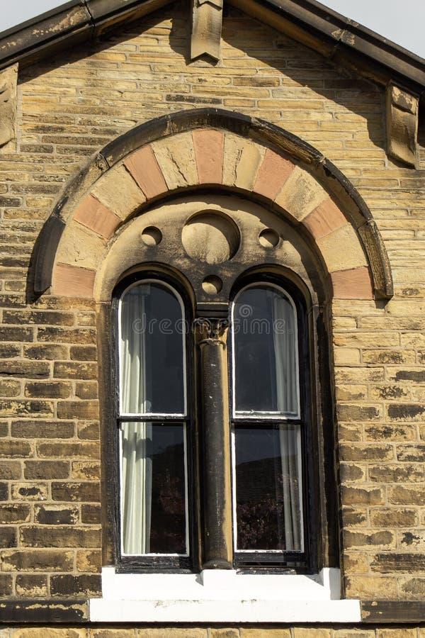 威尼斯式窗口在索尔泰尔 图库摄影