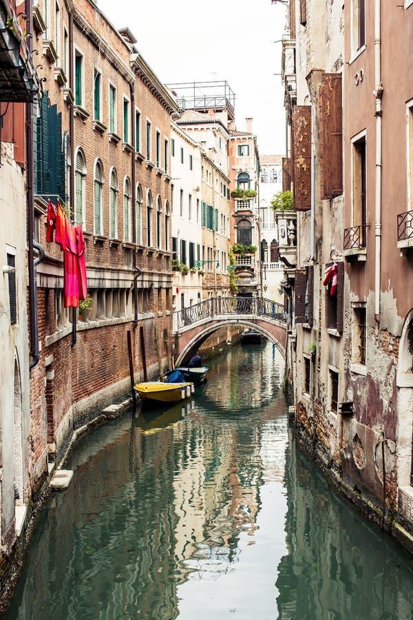 威尼斯式街道 免版税库存图片