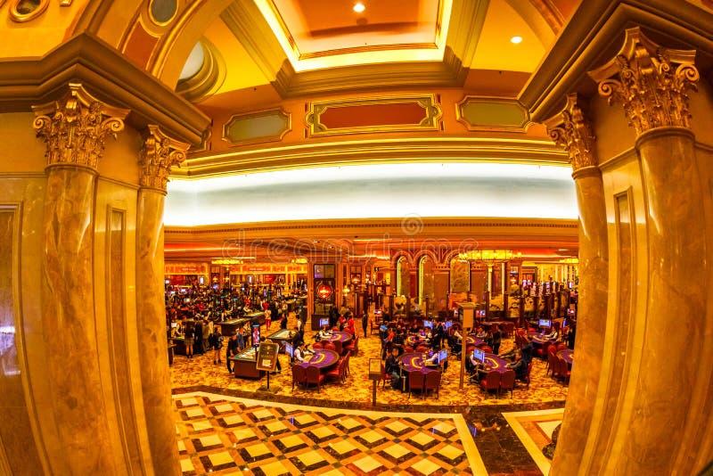 威尼斯式赌博娱乐场 库存图片