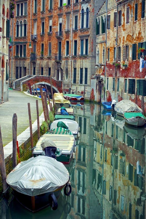 威尼斯式运河 库存照片