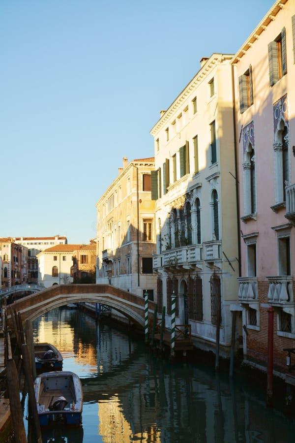 威尼斯式都市风景,意大利,欧洲 库存照片