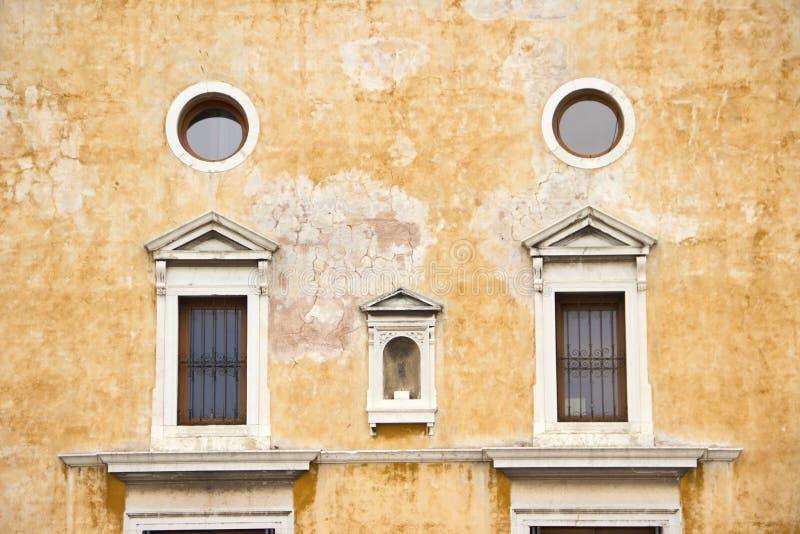 威尼斯式门面 免版税库存照片